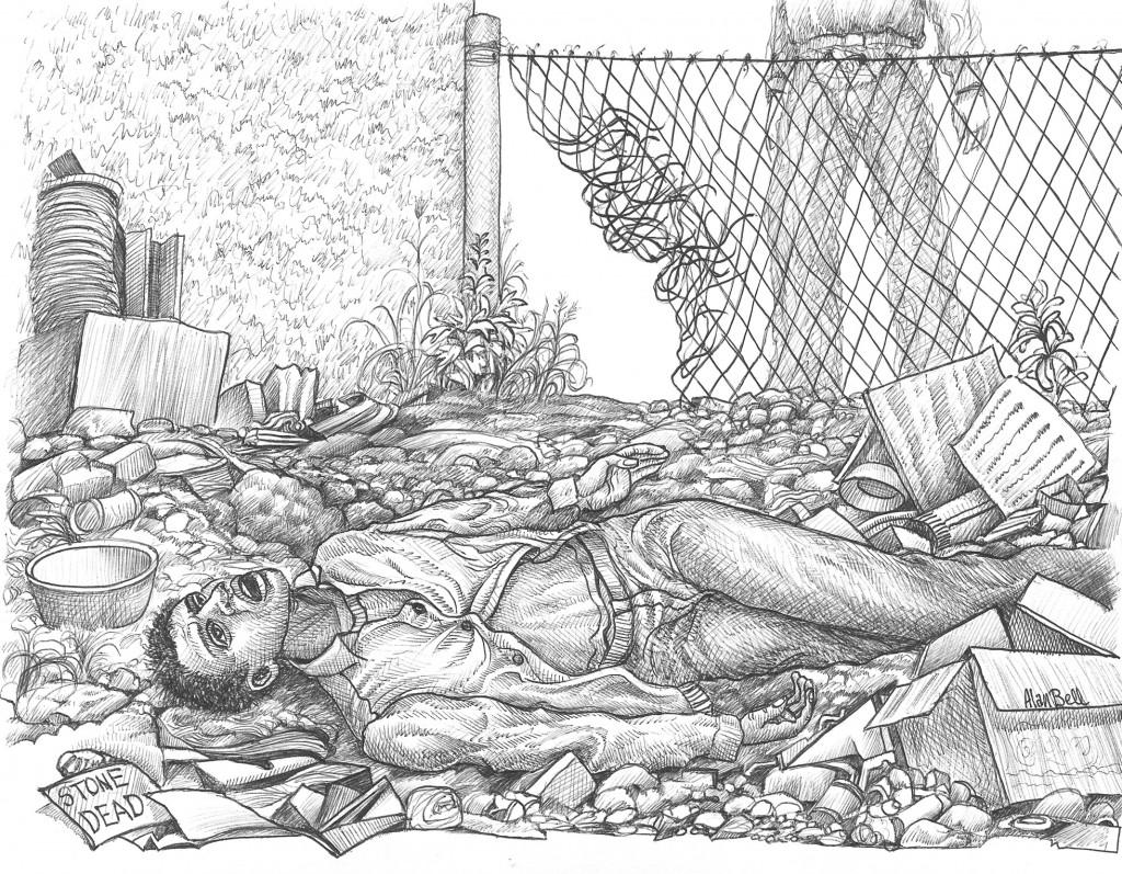 """34 """"Stone Dead"""" by Alan Bell"""