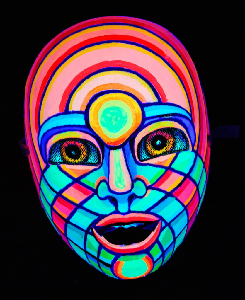 """Youth"" mask by Alan Bell"