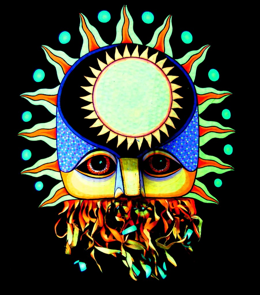 """The Sun"" Mask by Alan Bell"